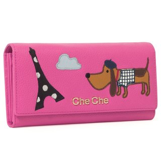 Parisian Doggie Leather Wallet