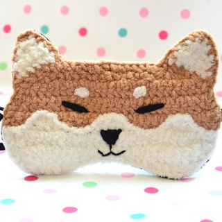 Soft animal sleep goggles - Meng Meng Shiba Inu