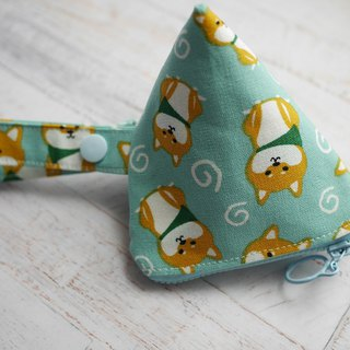 Dog stereo triangle pacifier bag