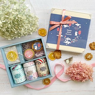 — | Miss Sen's Tea Shop | — German Fruit Tea and Dry Small Bouquet Gift Box