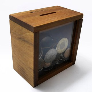 Money is rolling to save money, money, barrel, eucalyptus wood, small wood workshop, 10x10x6cm