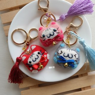 sleeping original manual [volume] Yu Shou Fu cat pendant / key ring