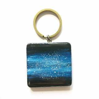 Painting jewelry / Dijiao star key ring