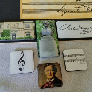 FUGUE Origin Wagner [Collector's Edition] - six thematic magnet