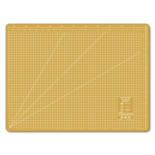 Lightweight odorless cutting pad (A2) yellow translucent / art professional use