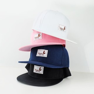 Vavia Baseball Cap | White | Pink | Navy Blue | Black