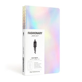The hand-painted FASHIONARY / M Version / A6 / 3-Pack / Neon