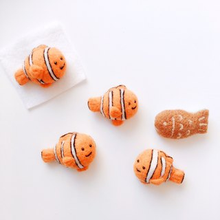 Clownfish - Wool Felt Pins