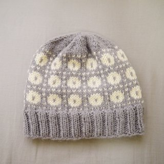 Handmade knit caps - little snow cap