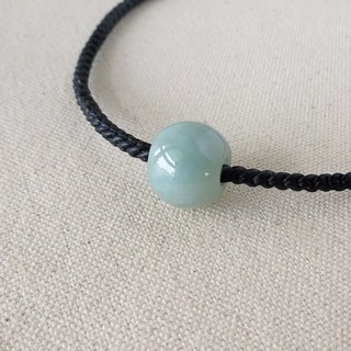 Sterling silver ***fashion [lucky stone] jade silk wax line necklace*[5] * [eight shares]
