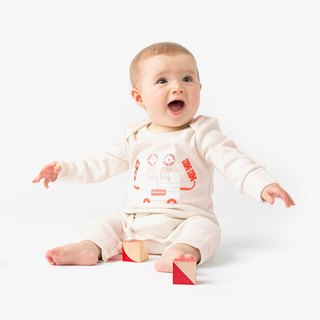 The Crab Baby Grow Bio Organic Cotton