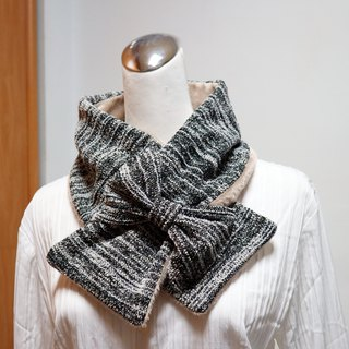 Adjustable short scarf. Scarf Warm bib double-sided two-color adult. Suitable for children*SK*