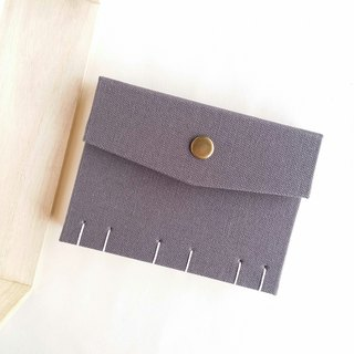 [Ordinary gray] Write your extraordinary French Coptic line book handmade book manual notebook