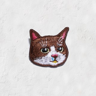 Nose cat embroidery pins