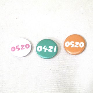 | Badge magnets | Customized special days (32 colors can be selected)