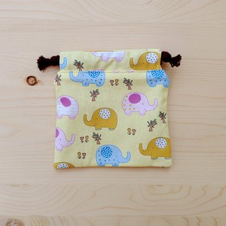 Cute baby elephant pocket (small)