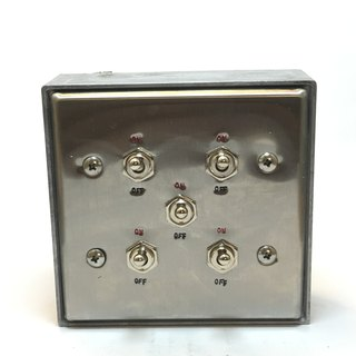 Edison-industry retro industrial wind LOFT industrial switch five dimensions (steel seal series)