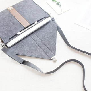 Felt computer case 2017 new MacBook Pro 13 吋 pen electric bag computer bag 078