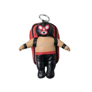 SUSS-Japan Magnets Masked Wrestler Series Muscle Man Backpack Storage Bag/Card Clip (Black Side)
