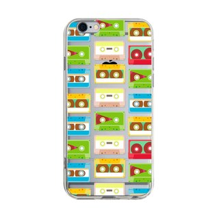 Audio cassette - iPhone X 8 7 6s Plus 5s Samsung S7 S8 S9 mobile phone case