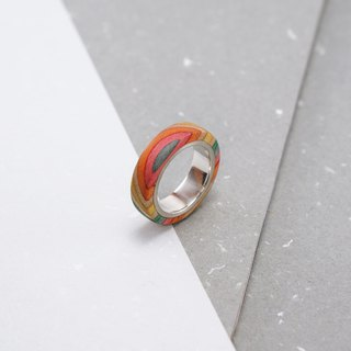 Send wood style ring R0209005