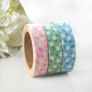 Clearance - cloth tape [cotton candy small flower series] OPP packaging
