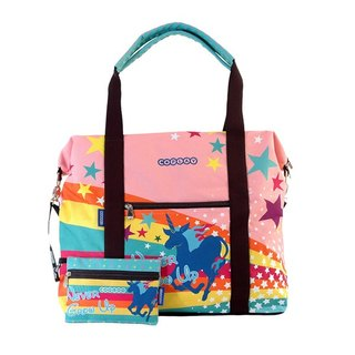 COPLAY  travel bag-rainbow horse