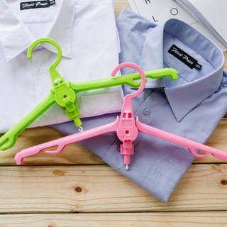 Colorful Foldable Clothes Hanger (2pcs)