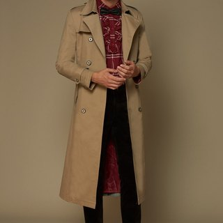 Classic British trench coat
