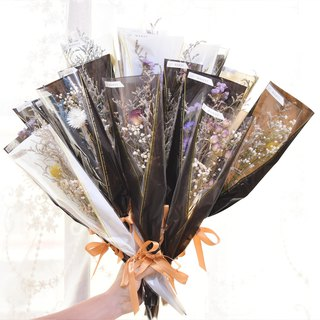 Dry flower high CP value bouquet dry flower eternal flower wedding teacher's day wedding small things Tanabata