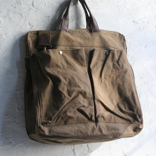CHEEZ CHEEZ Canvas _Avi bag_大方咖