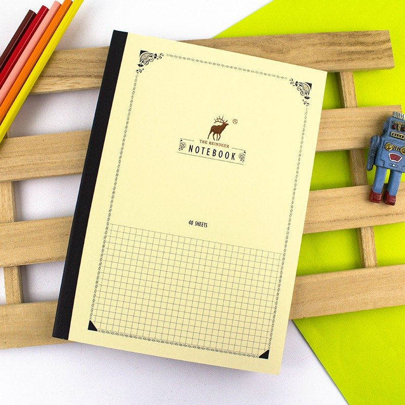 16K fixed page notes / notepad (for pens) - square