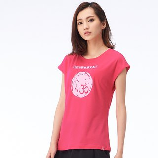 [MACACA] Cycle cool bamboo stick love T- BST2312 pink