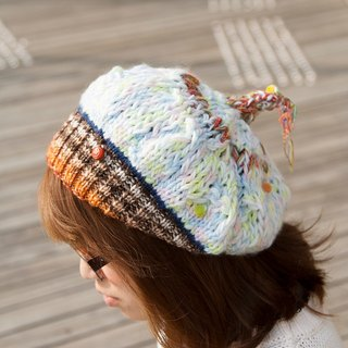 oO Oo chatter layers of braided tails elf hat cold ~ [limited goods]