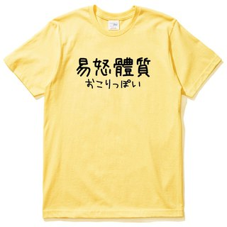 Japanese irritability constitution # 2 short-sleeved T-shirt white Chinese Japanese English Wenqing Chinese style