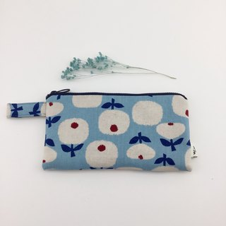 A little bit of flowers - mobile phone bag / pencil case / wallet / universal bag