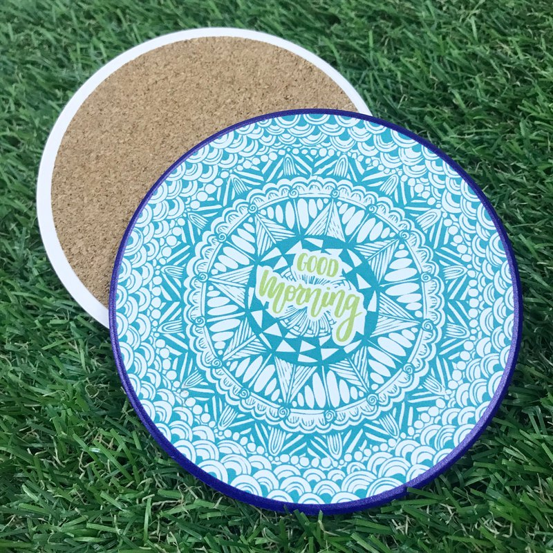 Zentangle Pattern Water absorption Insulated coaster