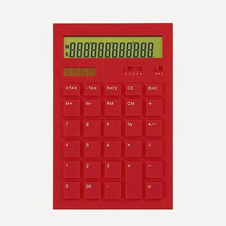 CALCULATOR 12DD RED