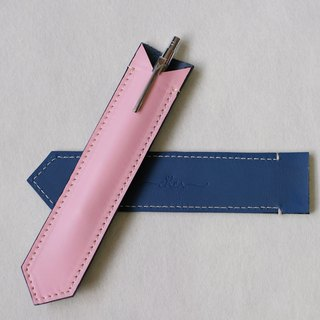 BILLIE Pink&Blue Leather Cute Pen Case / Pen Holder/ Apple Pen Soft Cover