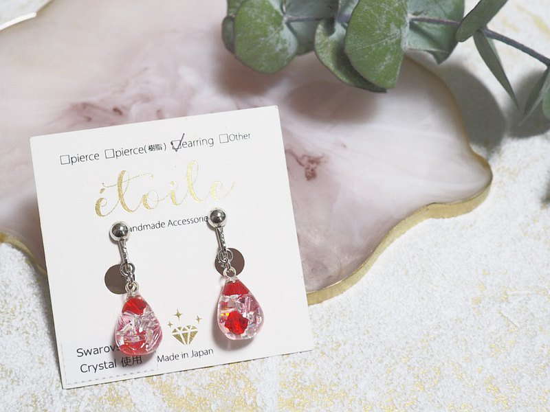 [Choice of Happy Bag] Drop series earrings
