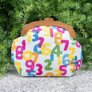 [Classic color number] retro coffee wooden mouth gold bag - big section #随包包#古着#sousou