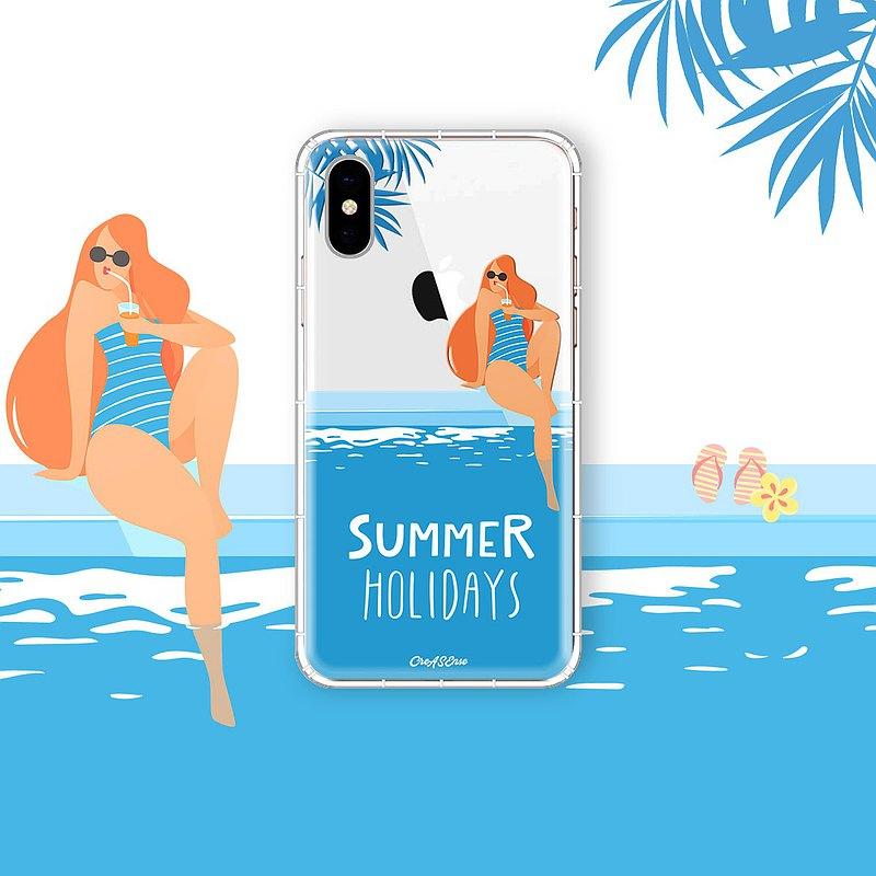 夏日海濱假期 涼爽夏日系列 支援各品牌手機殼 CSBB08