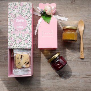 La Santé French Handmade Jam - Pink Perfect Day Wedding Gift Box (Three Boxes)