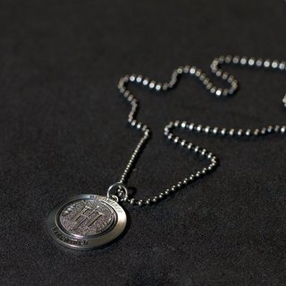 Hardwired | Classic Scarf Necklace | 925 Silver | Men and Women | (With Silver Chain)