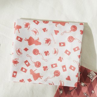 7321 Design summer cotton square handkerchief v3-Alice, 73D73266