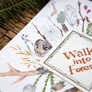 Walk into Forest - OURS Original Washi Masking Tape