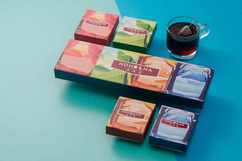 四季三角立體茶包禮盒