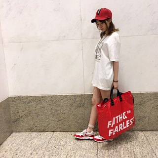 Faith & Fearless Pop Bag_Heart