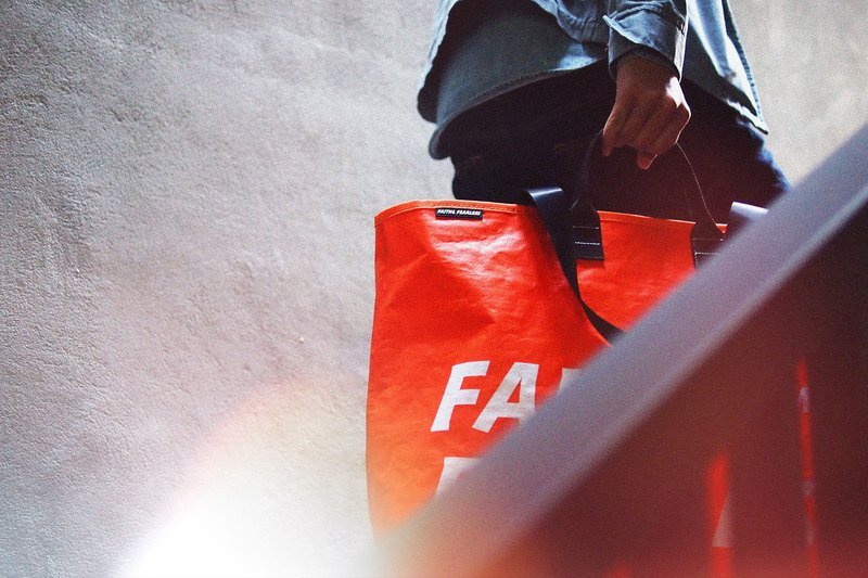Faith & Fearless Pop Bag_紅心