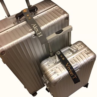Customized Luggage Ribbon (Fashion Black)